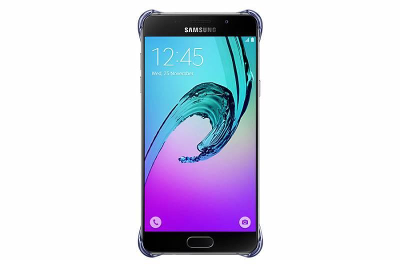 Чехол Samsung Clear Cover, для Samsung Galaxy A5 (2016), черный/прозрачный (EF-QA510CBEGRU) - фото 1