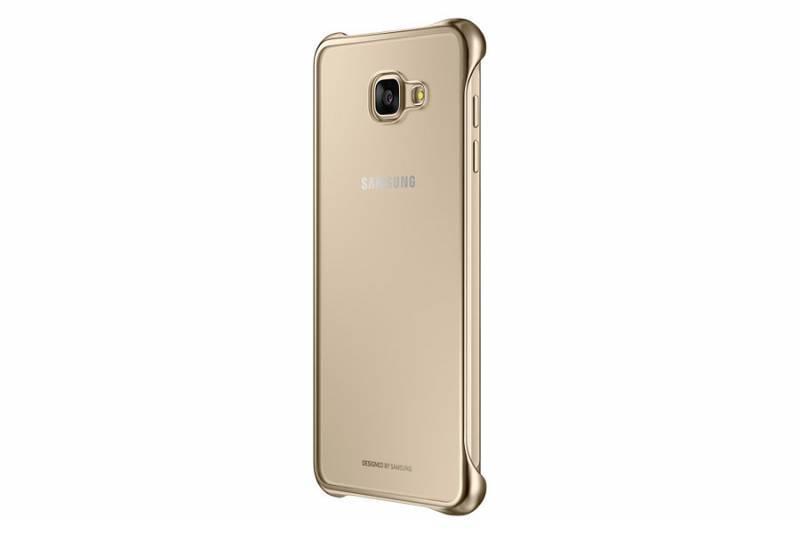 Чехол Samsung Clear Cover, для Samsung Galaxy A7 (2016), золотистый/прозрачный (EF-QA710CFEGRU) - фото 2