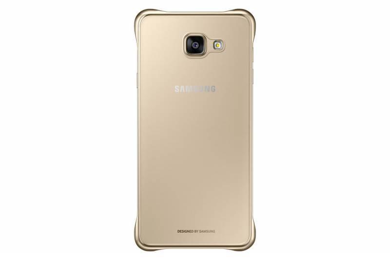 Чехол Samsung Clear Cover, для Samsung Galaxy A7 (2016), золотистый/прозрачный (EF-QA710CFEGRU) - фото 3