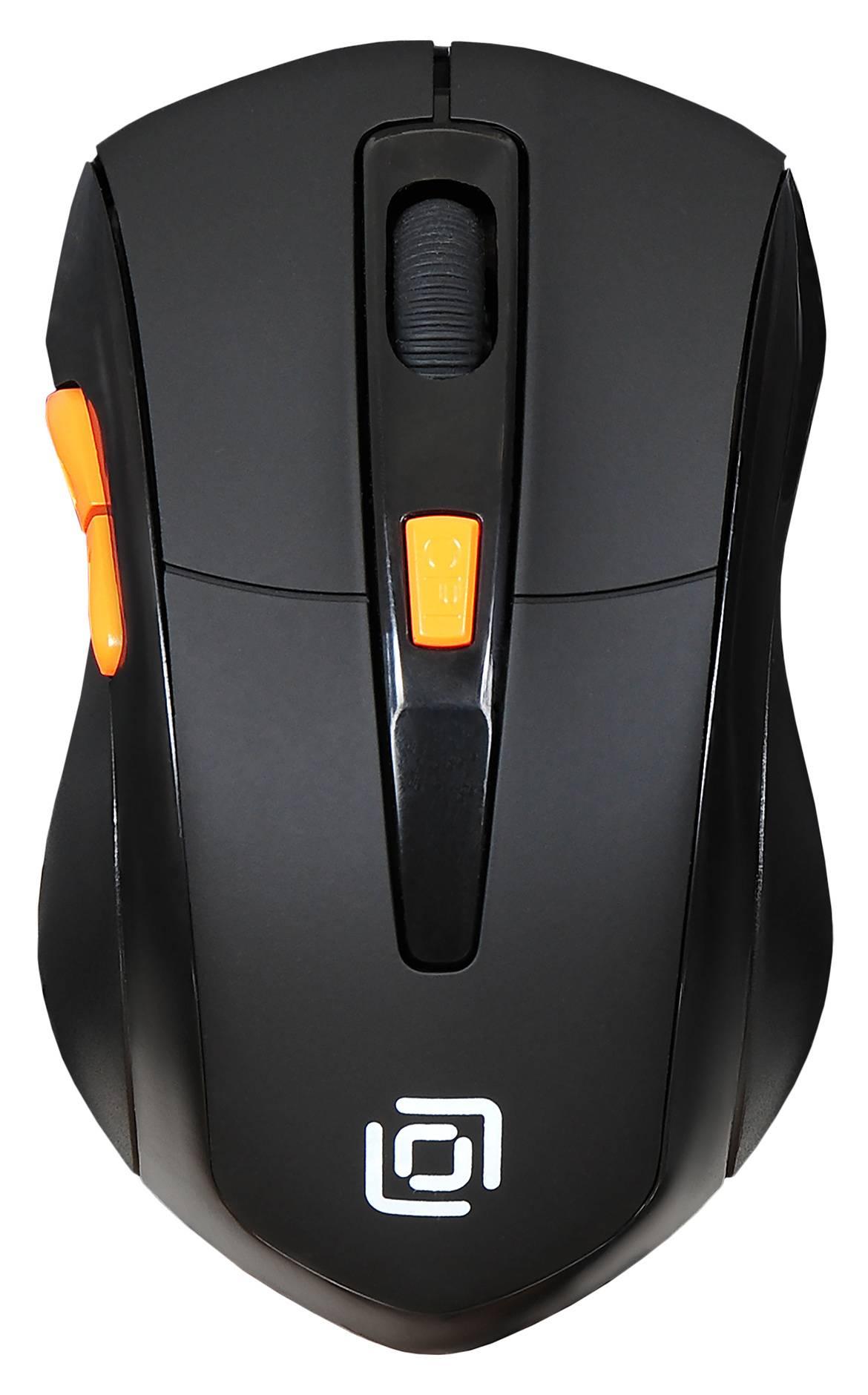 Мышь Oklick 585MW черный (SH-649) - фото 1
