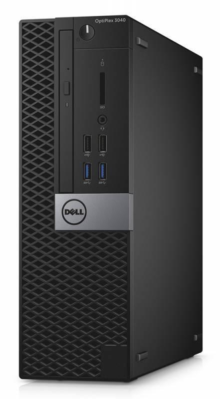 Компьютер Dell Optiplex 3040 черный/серебристый - фото 1