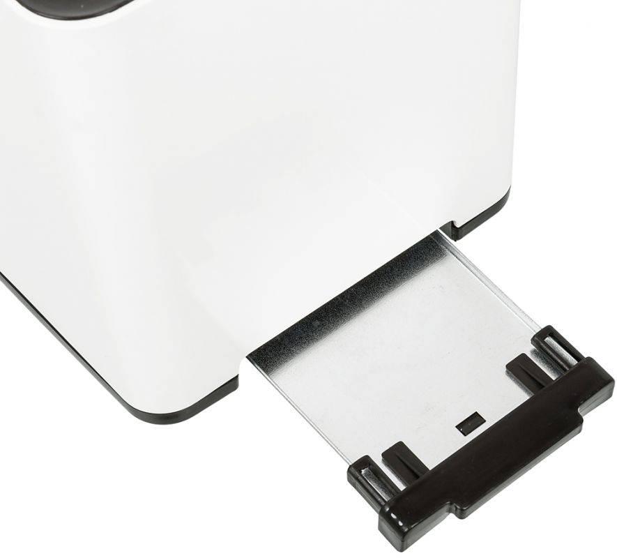 Тостер Sinbo ST 2418 белый/черный - фото 5