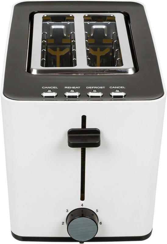 Тостер Sinbo ST 2418 белый/черный - фото 2