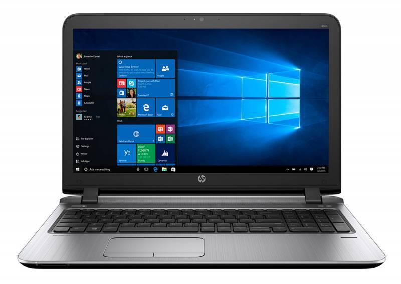 """Ноутбук 15.6"""" HP ProBook 450 G3 черный - фото 1"""