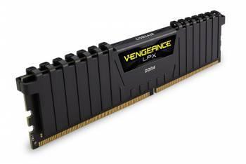 Модуль памяти DIMM DDR4 16Gb 2400MHz Corsair Vengeance LPX Black Heat spreader (CMK16GX4M1A2400C14) unbuffered Ret
