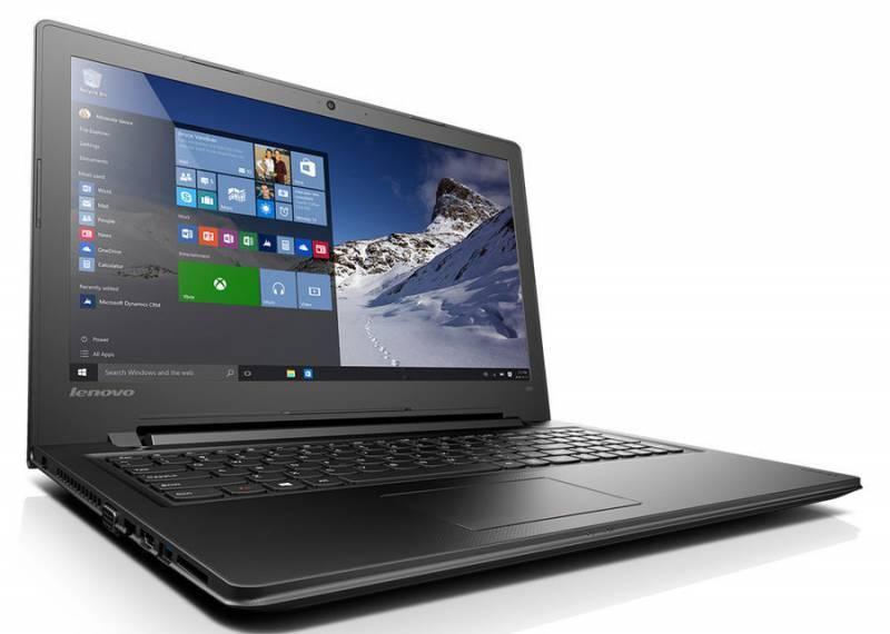 """Ноутбук 15.6"""" Lenovo IdeaPad 300-15IBR черный - фото 1"""