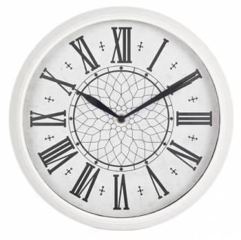 Настенные часы Бюрократ WallC-R26P белый (WALLC-R26P/WHITE)
