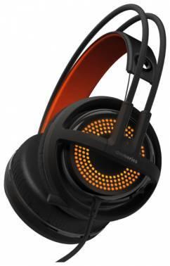 Наушники с микрофоном Steelseries Siberia 350 черный