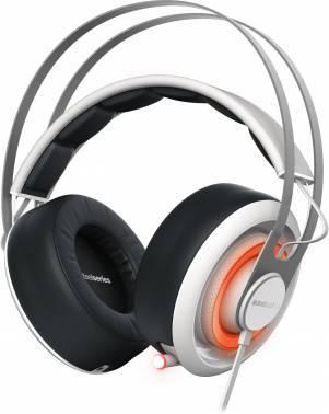 Наушники с микрофоном Steelseries Siberia 650 белый / черный
