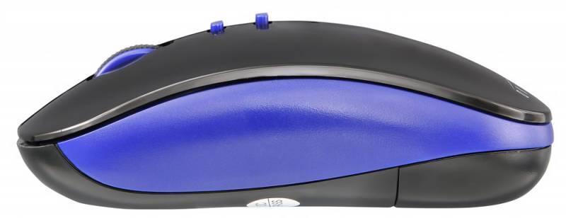 Мышь Oklick 595MB черный/синий (TM-8900) - фото 4