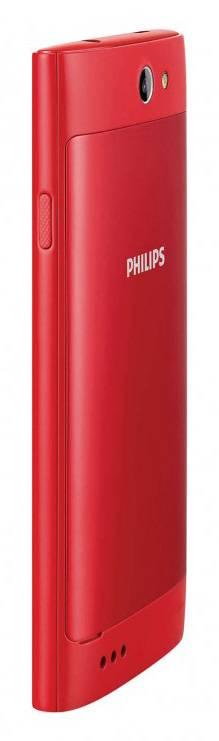 Смартфон Philips S309 8ГБ красный - фото 3