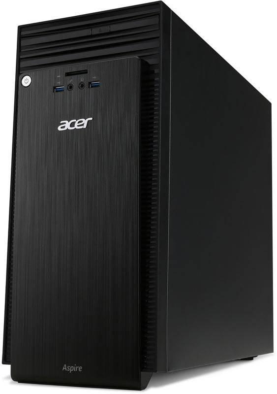 Системный блок Acer Aspire TC-215 черный - фото 1