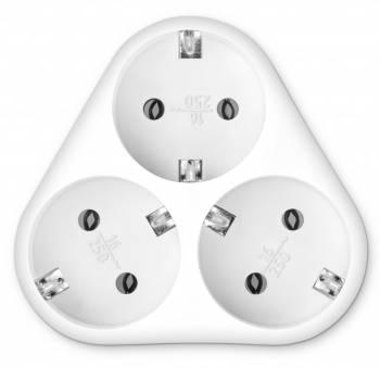 Сетевой разветвитель Buro BU-PS3VG-W белый