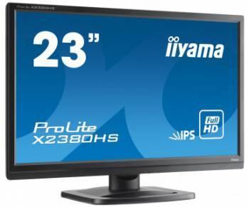 """Монитор 23"""" Iiyama ProLite X2380HS-B1 черный"""