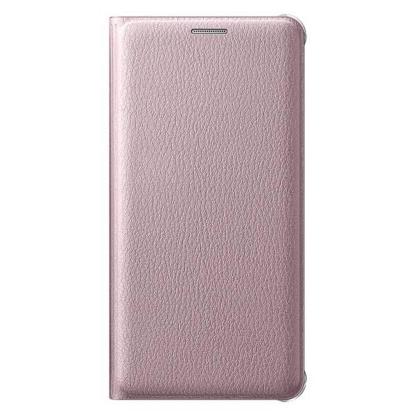 Чехол Samsung Flip Wallet, для Samsung Galaxy A5 (2016), розовое золото (EF-WA510PZEGRU) - фото 1