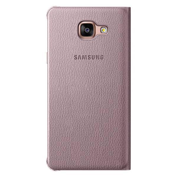 Чехол Samsung Flip Wallet, для Samsung Galaxy A5 (2016), розовое золото (EF-WA510PZEGRU) - фото 2