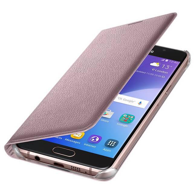 Чехол Samsung Flip Wallet, для Samsung Galaxy A5 (2016), розовое золото (EF-WA510PZEGRU) - фото 3