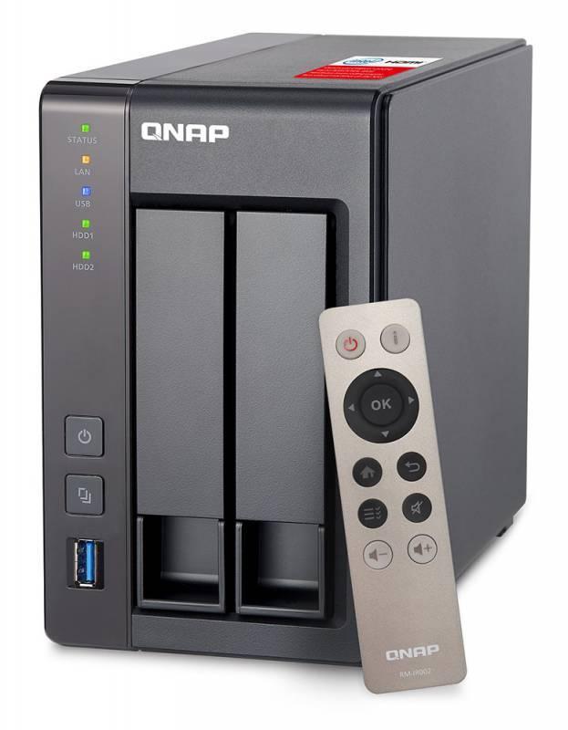 Сетевое хранилище NAS Qnap TS-251+-8G - фото 1