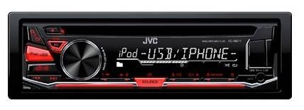 Автомагнитола JVC KD-R671 - фото 1