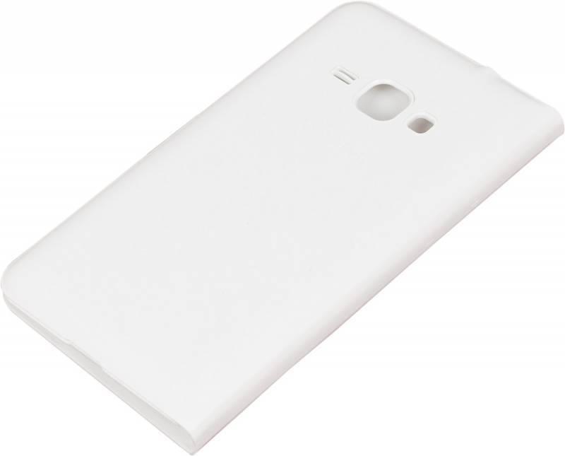 Чехол Samsung EF-WJ120P, для Samsung Galaxy J1(2016), белый (EF-WJ120PWEGRU) - фото 2