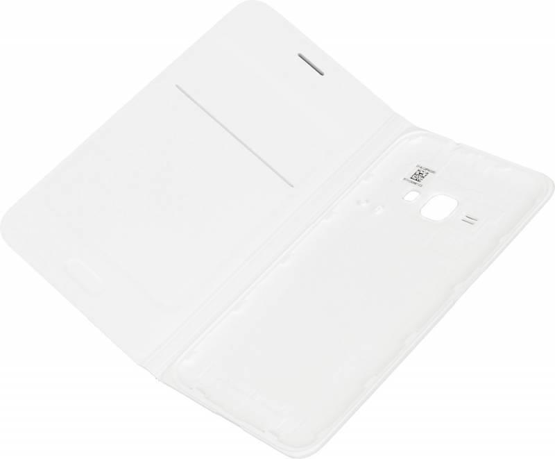 Чехол Samsung EF-WJ120P, для Samsung Galaxy J1(2016), белый (EF-WJ120PWEGRU) - фото 4