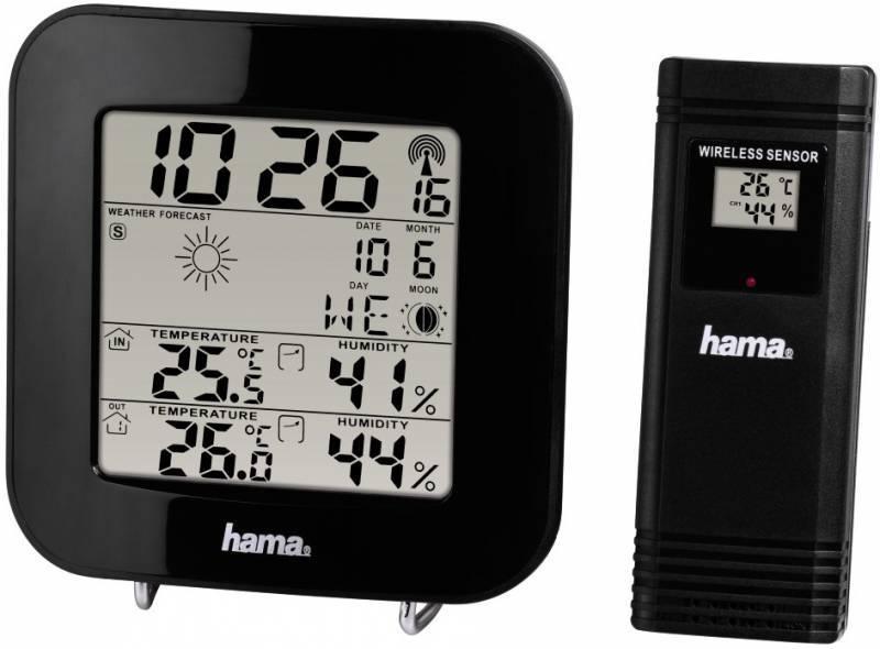 Погодная станция Hama EWS-200 черный - фото 1