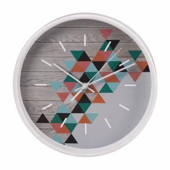 Настенные часы Hama PG-260 серый (00136227)