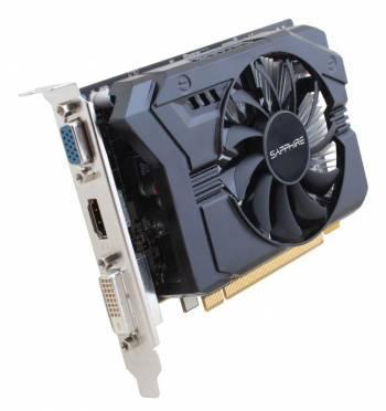 Видеокарта Sapphire AMD Radeon R7 250 11215-21-20G 2048Mb 128bit GDDR3 925/1600 PCI-E DVIx1/HDMIx1/CRTx1/HDCP lite