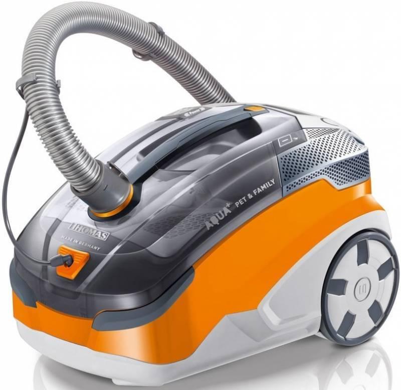 Моющий пылесос Thomas Twin Pet & Family серый/оранжевый (788563) - фото 1