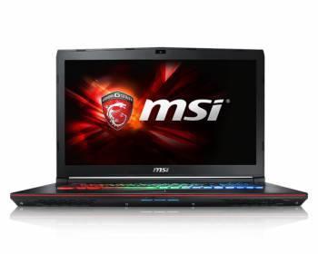 Ноутбук 17.3 MSI GE72 6QE(Apache Pro)-270XRU черный