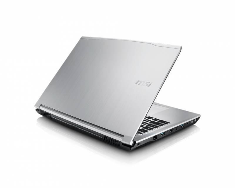 """Ноутбук 15.6"""" MSI PE60 6QD-424XRU серебристый - фото 4"""