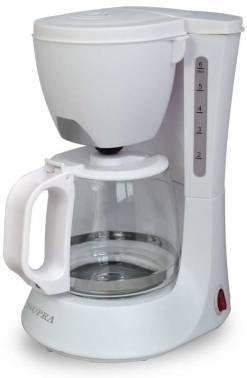 Кофеварка капельная Supra CMS-0602 белый