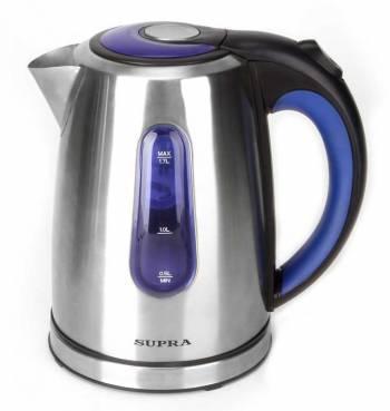 Чайник электрический Supra KES-1738 серебристый