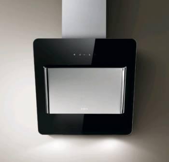Каминная вытяжка Elica Belt LUX BL/A/55 черный/нержавеющая сталь (PRF0102284A)