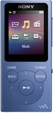 mp3-плеер 8Gb Sony NW-E394 синий