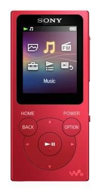 Плеер Sony NW-E394 8ГБ красный (NWE394R.EE)