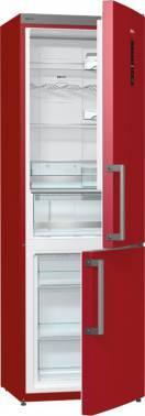 Холодильник Gorenje NRK6192MR бордовый
