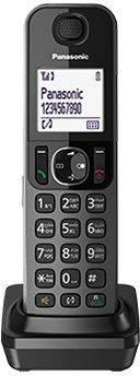 Дополнительная трубка Panasonic KX-TGFA30RUM темно-серый - фото 1