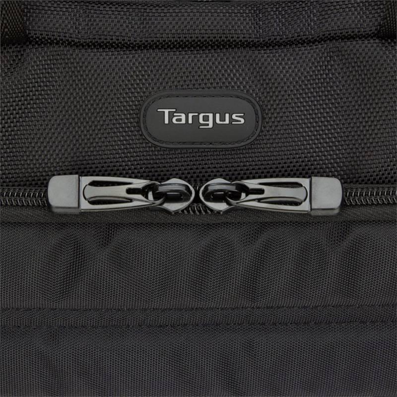 """Сумка для ноутбука 15.6"""" Targus TSS87409EU черный/желтый - фото 4"""
