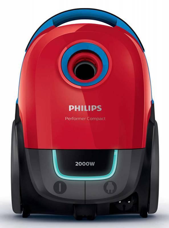 Пылесос Philips Performer Compact FC8385/01 красный/черный - фото 2