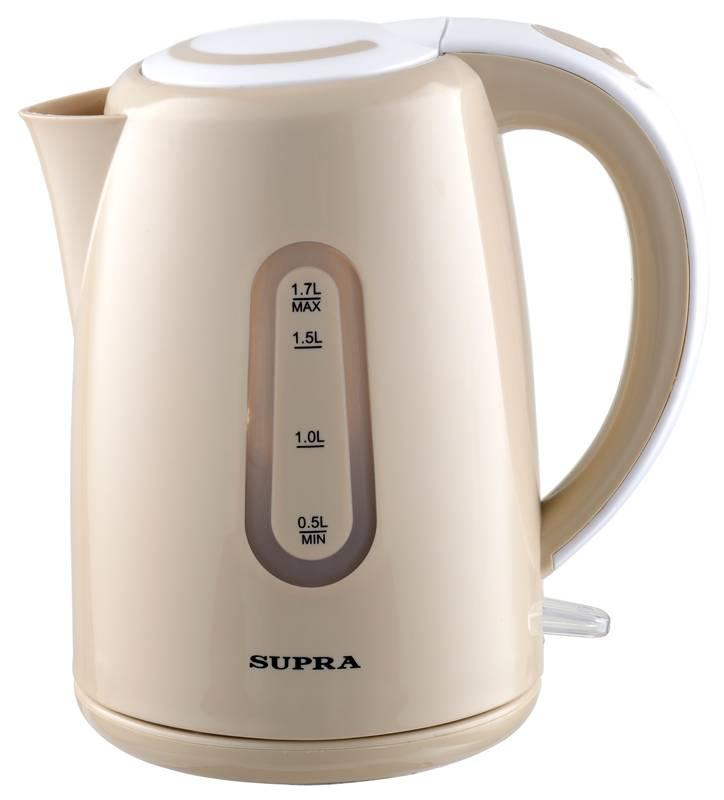 Чайник электрический Supra KES-1720 бежевый - фото 1