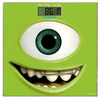 Весы напольные электронные Scarlett SC-BSD33E897 зеленый / рисунок