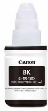 Картридж струйный Canon GI-490BK 0663C001 черный