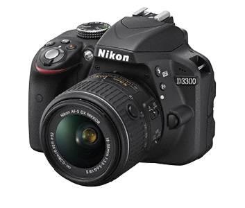 Фотоаппарат Nikon D3300 черный, 1 объектив 18-55mm VR AF-P - фото 2