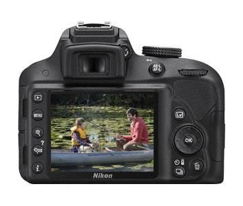 Фотоаппарат Nikon D3300 черный, 1 объектив 18-55mm VR AF-P - фото 3