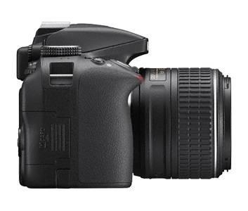 Фотоаппарат Nikon D3300 черный, 1 объектив 18-55mm VR AF-P - фото 4