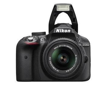 Фотоаппарат Nikon D3300 черный, 1 объектив 18-55mm VR AF-P - фото 5