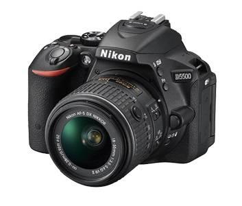 Фотоаппарат Nikon D5500 1 объектив черный - фото 2