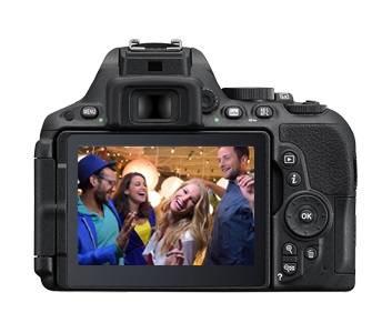Фотоаппарат Nikon D5500 1 объектив черный - фото 3