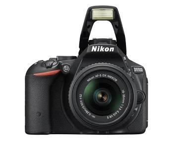 Фотоаппарат Nikon D5500 1 объектив черный - фото 5